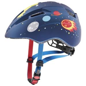 Uvex helma KID 2 CC dark blue rocket mat