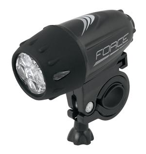 Force světlo přední RANK 5 diod + baterie