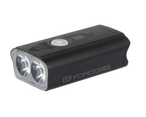 Force světlo přední DIVER 900 lm, USB, černé