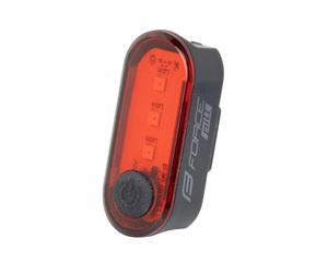 Force blikačka zadní PILL 12 LM, 3 x LED, USB