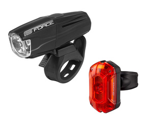 Force světla sada VARIO USB přední+zadní