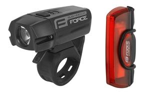 Force světla sada GLARE USB přední+zadní