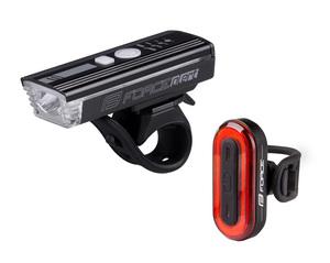 Force světla sada FUTURO USB přední+zadní