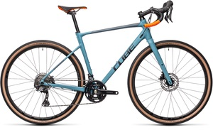 Cube gravel kolo NUROAD RACE greyblue orange