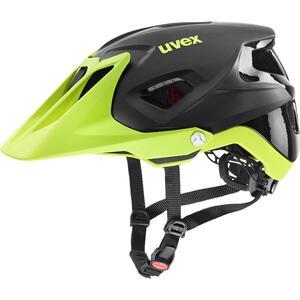 Uvex helma QUATRO INTEGRALE black-lime mat
