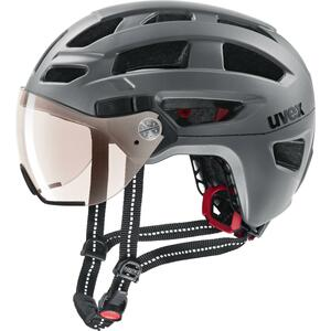 Uvex helma FINALE VISOR VARIO strato steel