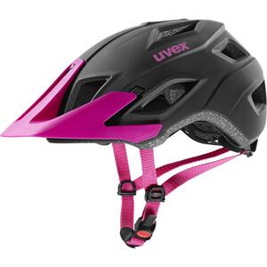 Uvex helma ACCESS black mat - berry