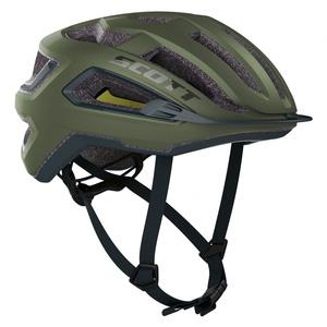 Scott cyklistická helma ARX PLUS green moss/nightfall blue