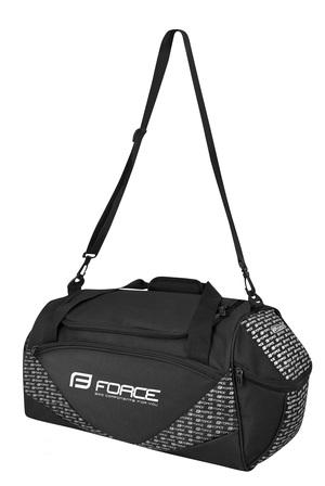 Force taška sportovní ACTION PLUS 80 l černo-stříbrná