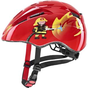 Uvex helma KID 2 red fireman