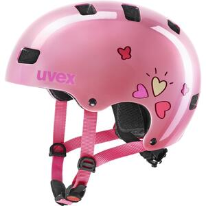 Uvex helma KID 3 pink heart