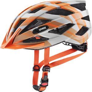 Uvex helma AIR WING CC grey-orange mat