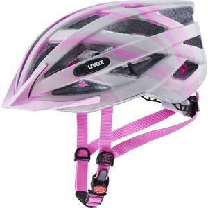 Uvex helma AIR WING CC grey - rosé mat