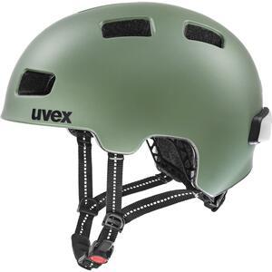 Uvex helma CITY 4 moss green mat