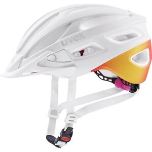 Uvex helma TRUE CC white - peach mat