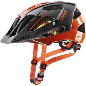 Uvex helma QUATRO CC MIPS titan - orange
