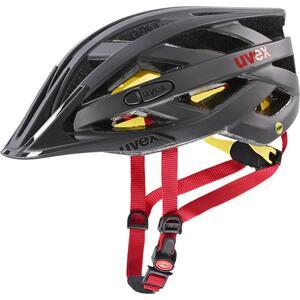 Uvex helma I-VO CC MIPS titan - red mat