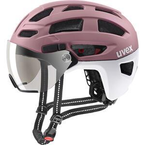 Uvex helma FINALE VISOR rosé - white mat