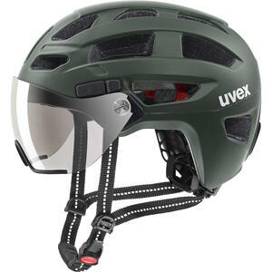 Uvex helma FINALE VISOR forest mat