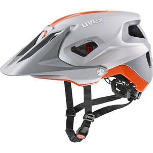 Uvex helma QUATRO INTEGRALE silver - orange mat