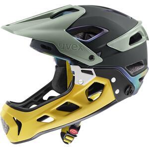 Uvex helma JAKKYL HDE 2.0 BOA forest - mustard mat