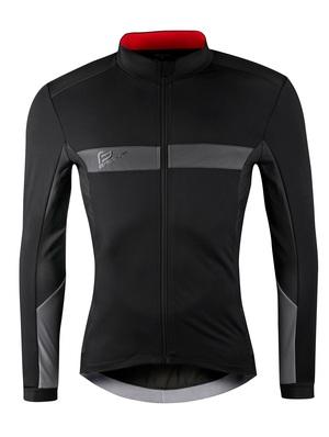 Force bunda BRIGHT zimní, černá