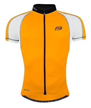 Force dres T10 krátký rukáv, oranžovo-bílý