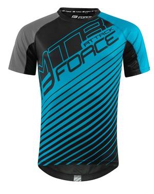 Force dres MTB ATTACK, modro-černý