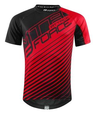 Force dres MTB ATTACK, černo-červený