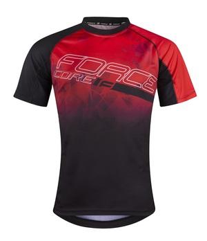 Force dres MTB CORE, červeno-černý