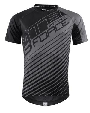 Force dres MTB ATTACK, černo-šedý