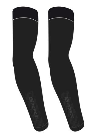 Force návleky na ruce BREEZE pletené, černé