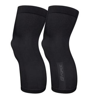 Force návleky na kolena BREEZE pletené, černé