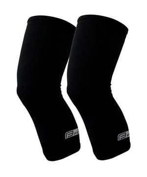 Force návleky na kolena RACE, lepené, černé