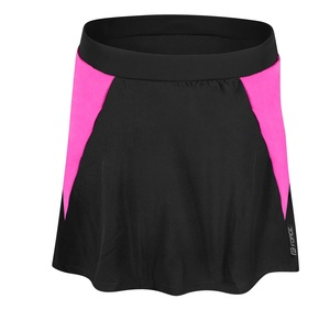Force sukně DAISY do pasu s vložkou, černo-růžová