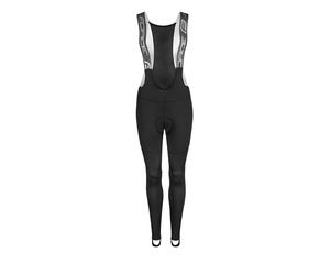 Force kalhoty SPRING LADY se šráky a vložkou, černé