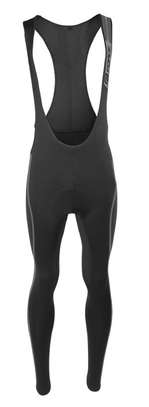 Force kalhoty REFLEX LINE se šráky a vložkou, černé