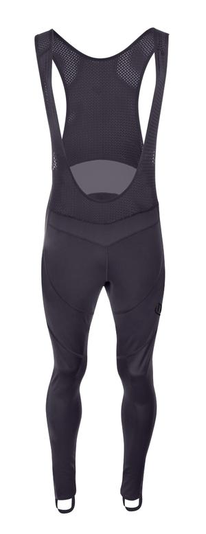 Force kalhoty BRIGHT se šráky bez vložky, černé