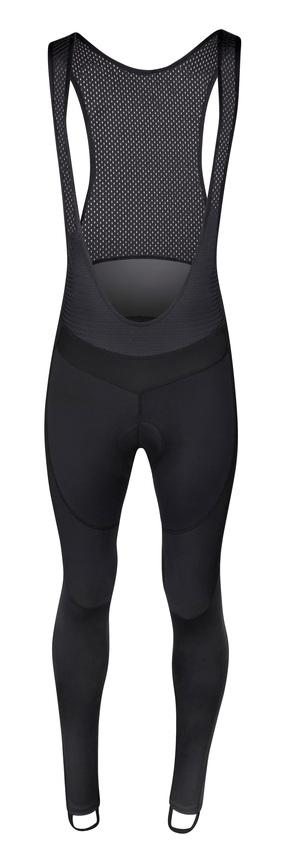 Force kalhoty BRIGHT se šráky a vložkou, černé