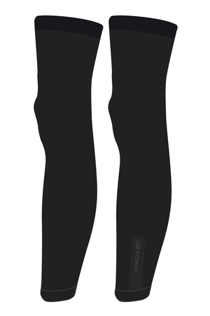 Force návleky na nohy BREEZE pletené, černé