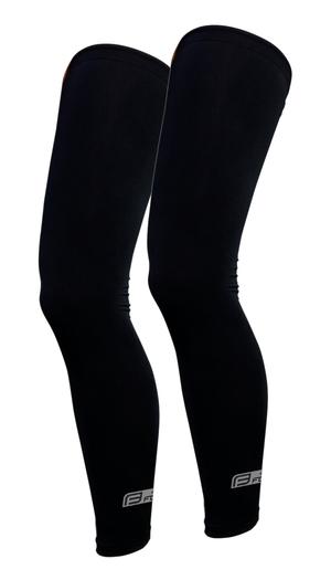 Force návleky na nohy RACE, lepené, černé