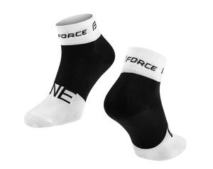 Force ponožky ONE bílo-černé