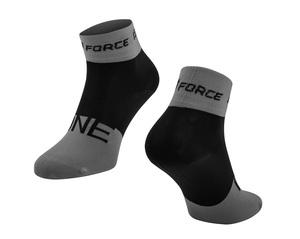 Force ponožky ONE šedo-černé