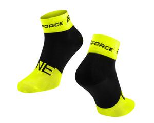 Force ponožky ONE fluo-černé