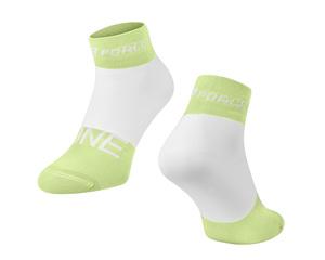 Force ponožky ONE zeleno-bílé