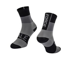 Force ponožky HALE černo-šedé