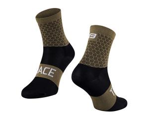 Force ponožky TRACE, zeleno-černé