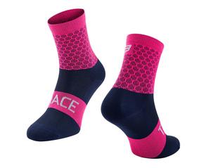 Force ponožky TRACE růžovo-modré