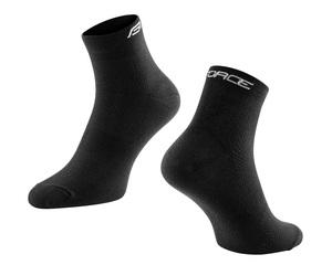 Force ponožky MID kotníkové, černé