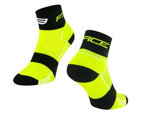 Force ponožky SPORT 3, fluo-černé